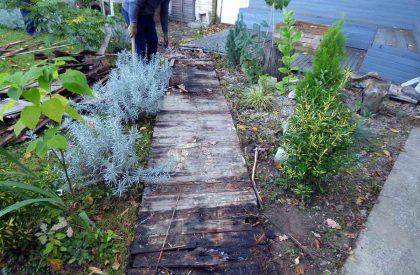 Vrt Sesvete prije početka obnove