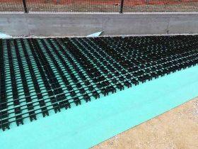 Izgled travnih rešetki Herbadesign sa podzemnim navodnjavanjem - Rainbird