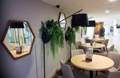 1d Cvjetni moduli i ogledala Herbadesign u suradnji sa Tech-garden, Valamar Dubrovnik