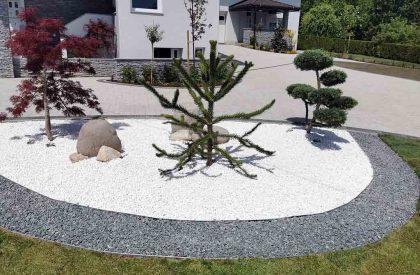 Vrtni rubnjaci Herbadesign za odvajanje malčiranih površina prilikom izrade japanskog vrta i šljunčane staze2